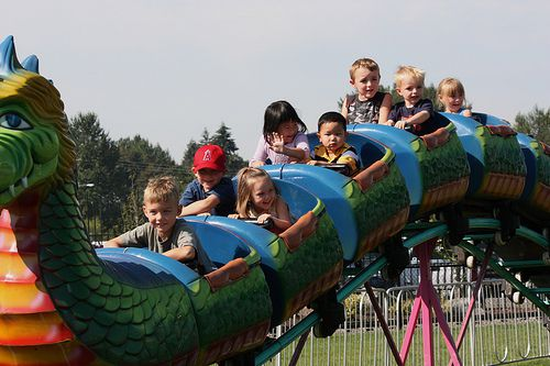 All About The Rides At The Washington State Fair