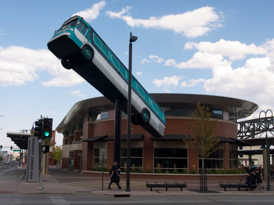 Reno 4th Street Bus Station