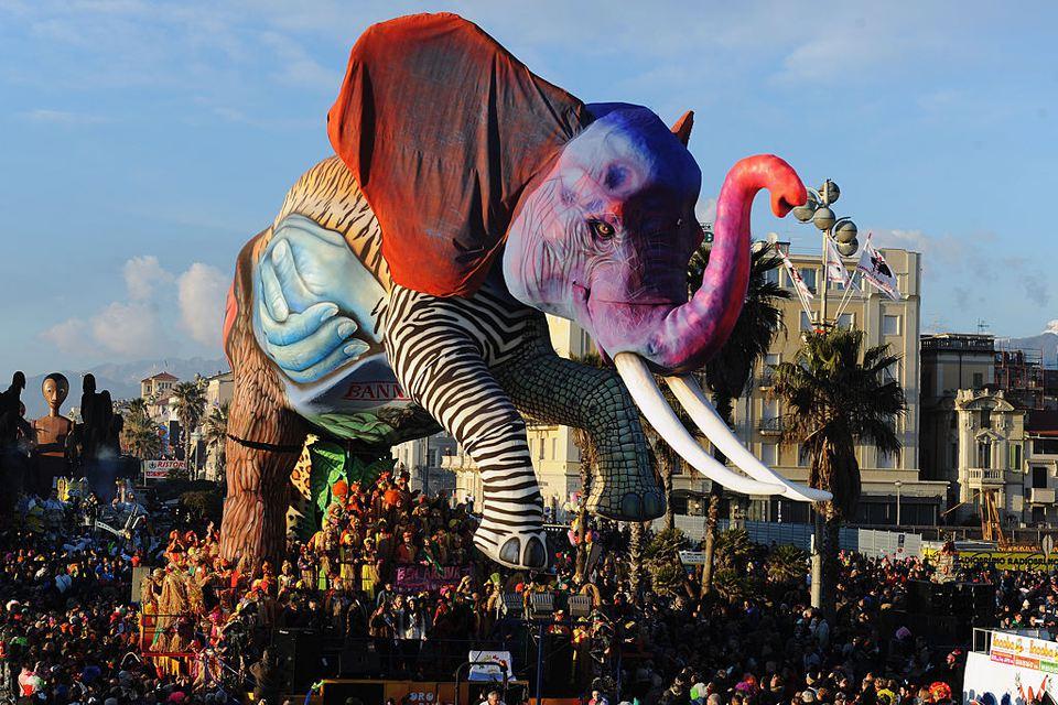 Viareggio Carnevale Float