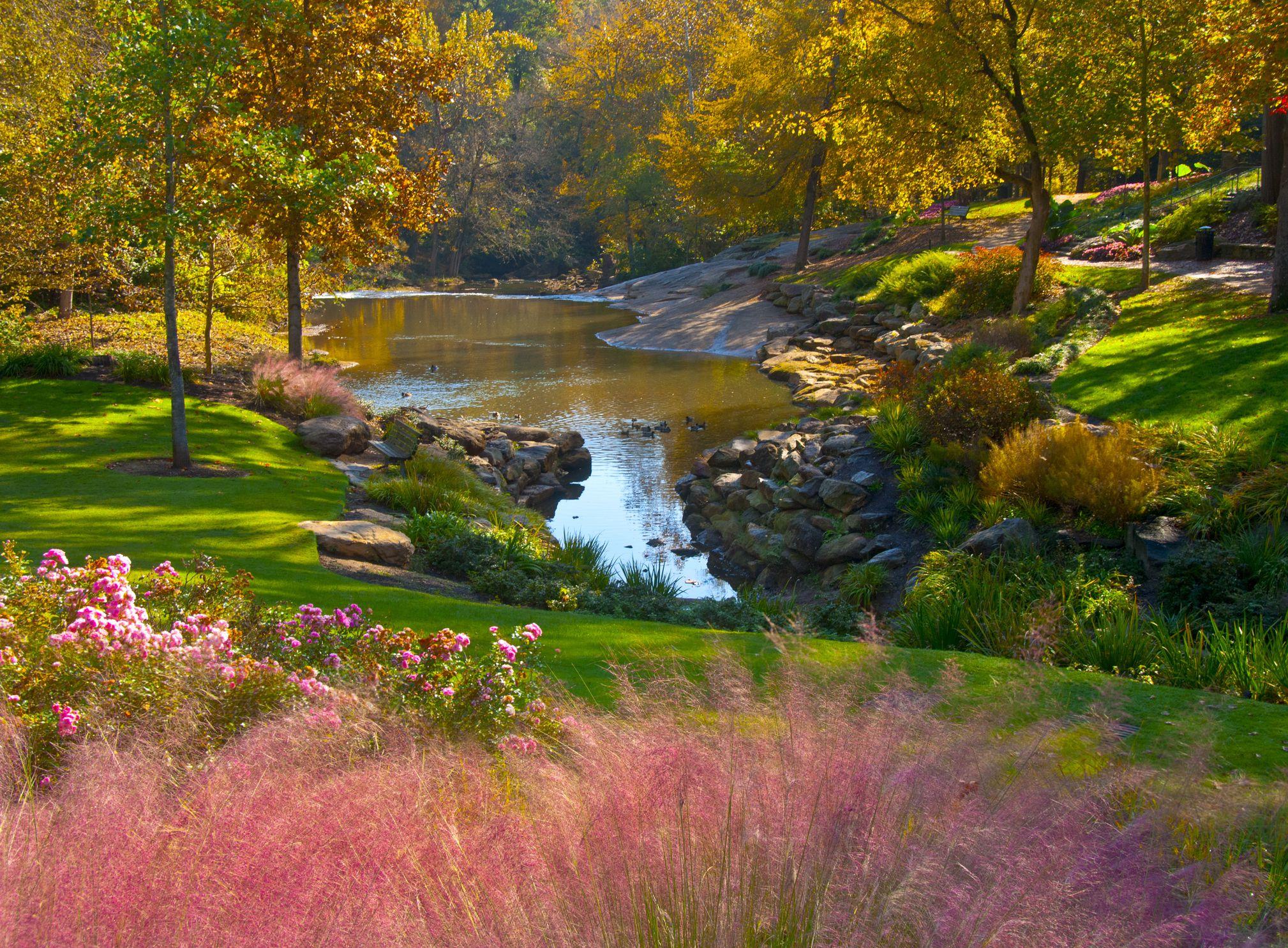 Greenville, South Carolina city park