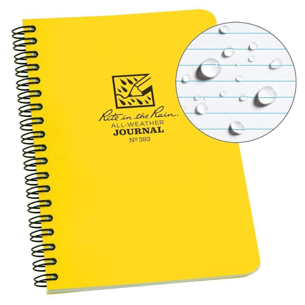 Cuaderno de espiral lateral para todo clima Rite in the Rain