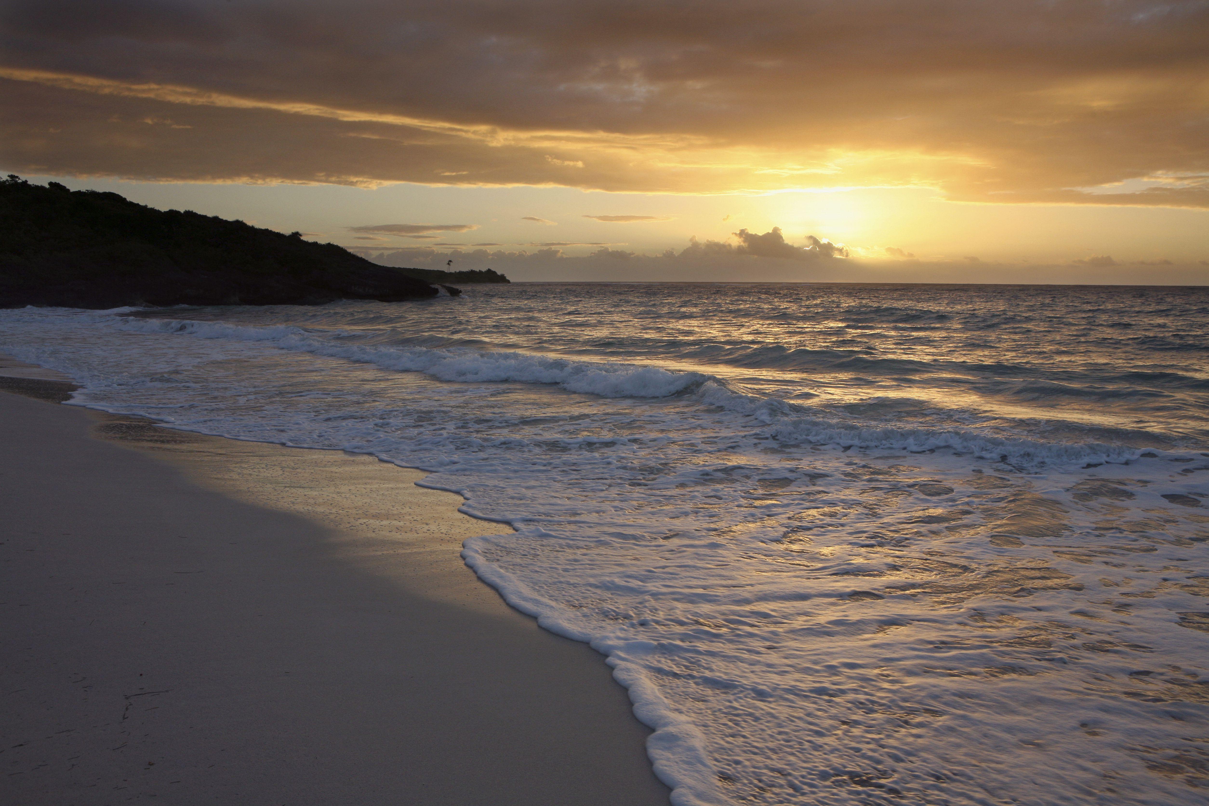 Puerto Rico, Isla de Vieques (Vieques Island), Navio Beach