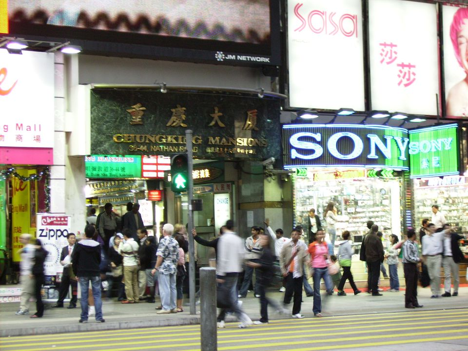 The iconic Chungking Mansions