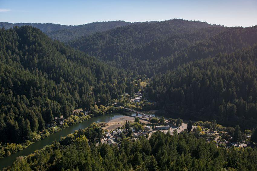 Russian River in Sonoma County