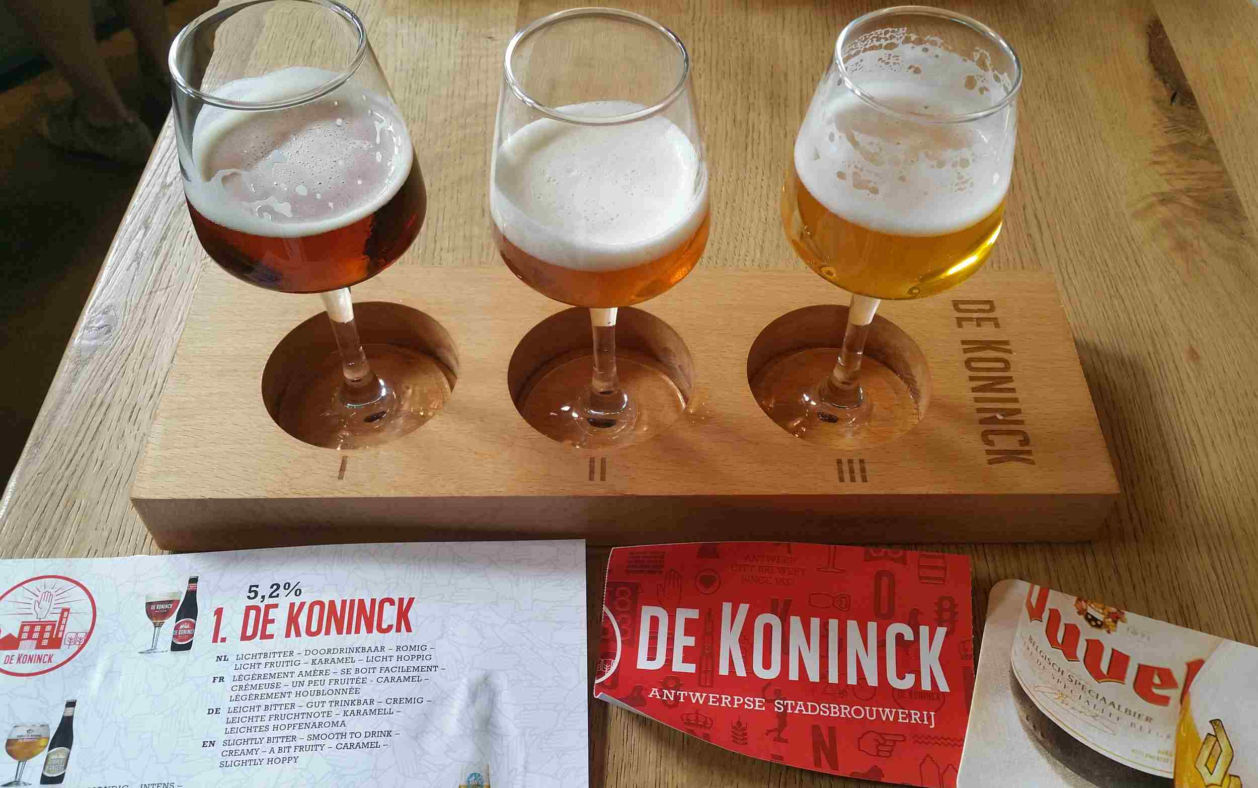 Cata de cerveza Duvel en Bélgica