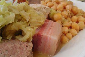 Detalle del Codido Madrileño del Restaurante Albahaca