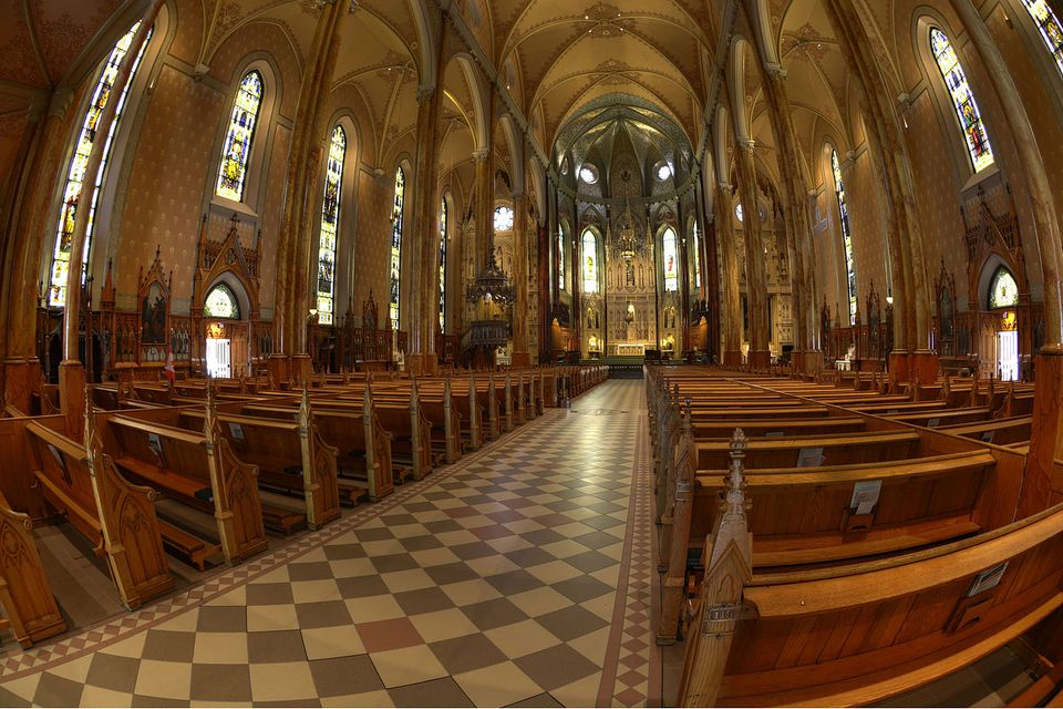 St. Patrick's Basilica in Montreal.