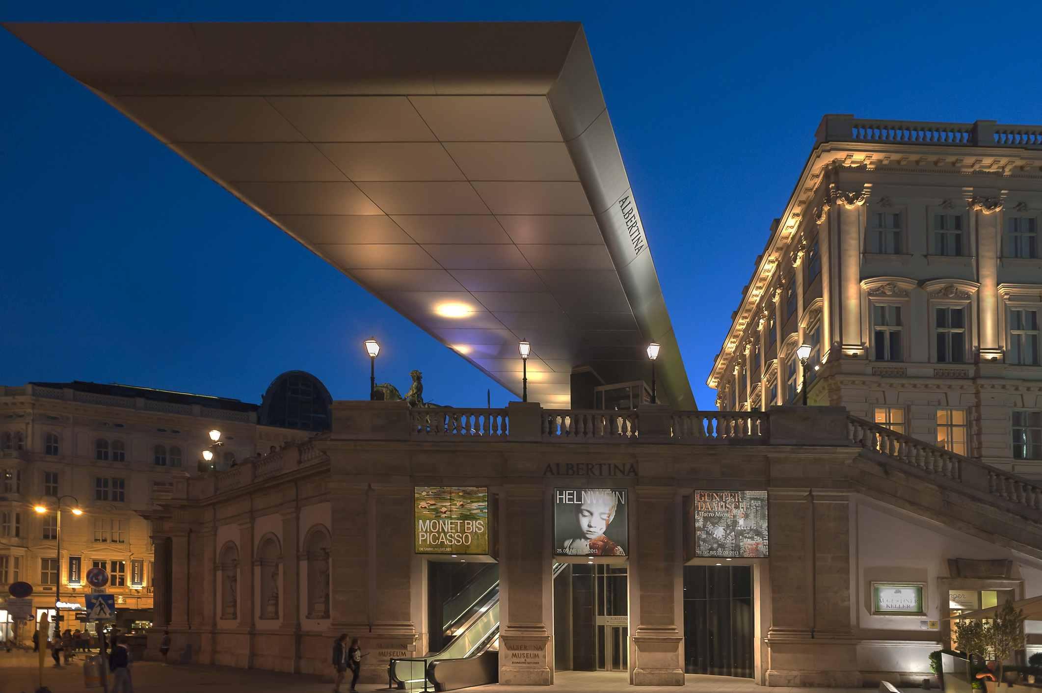 Museo Albertina en Viena, Austria