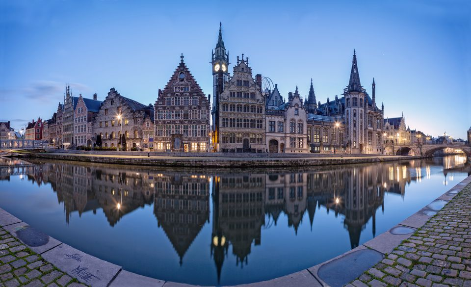 Ghent at Sunrise