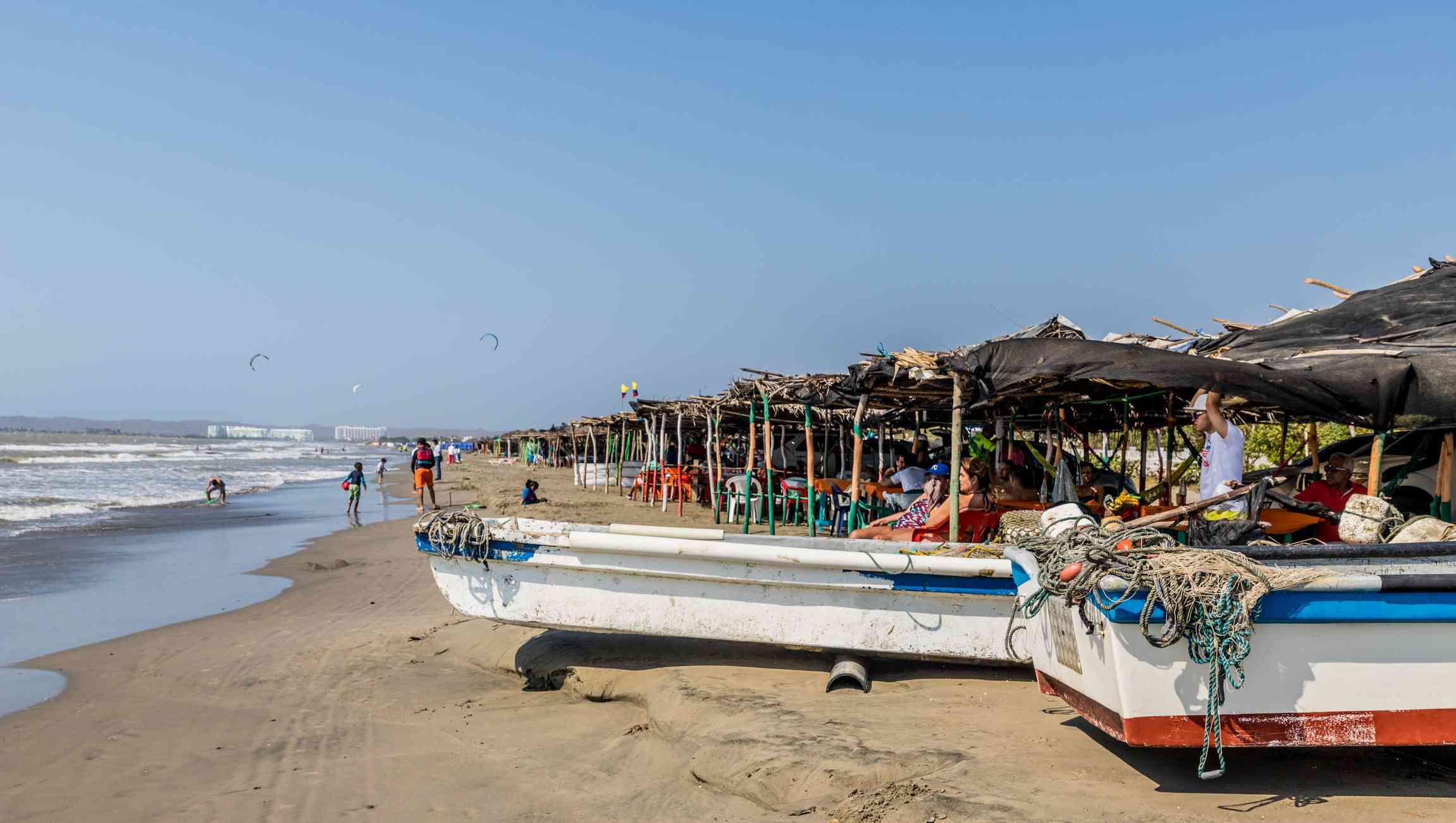 La Boquilla, outside of Cartagena