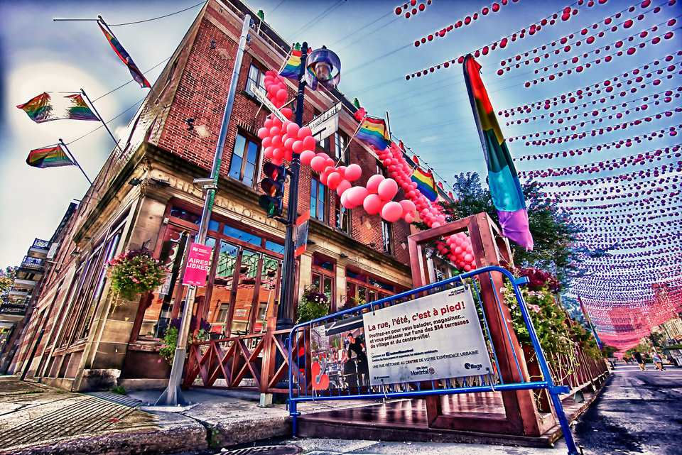 The Montreal Gay Village comes alive in the summer with a slew of free events and activities.