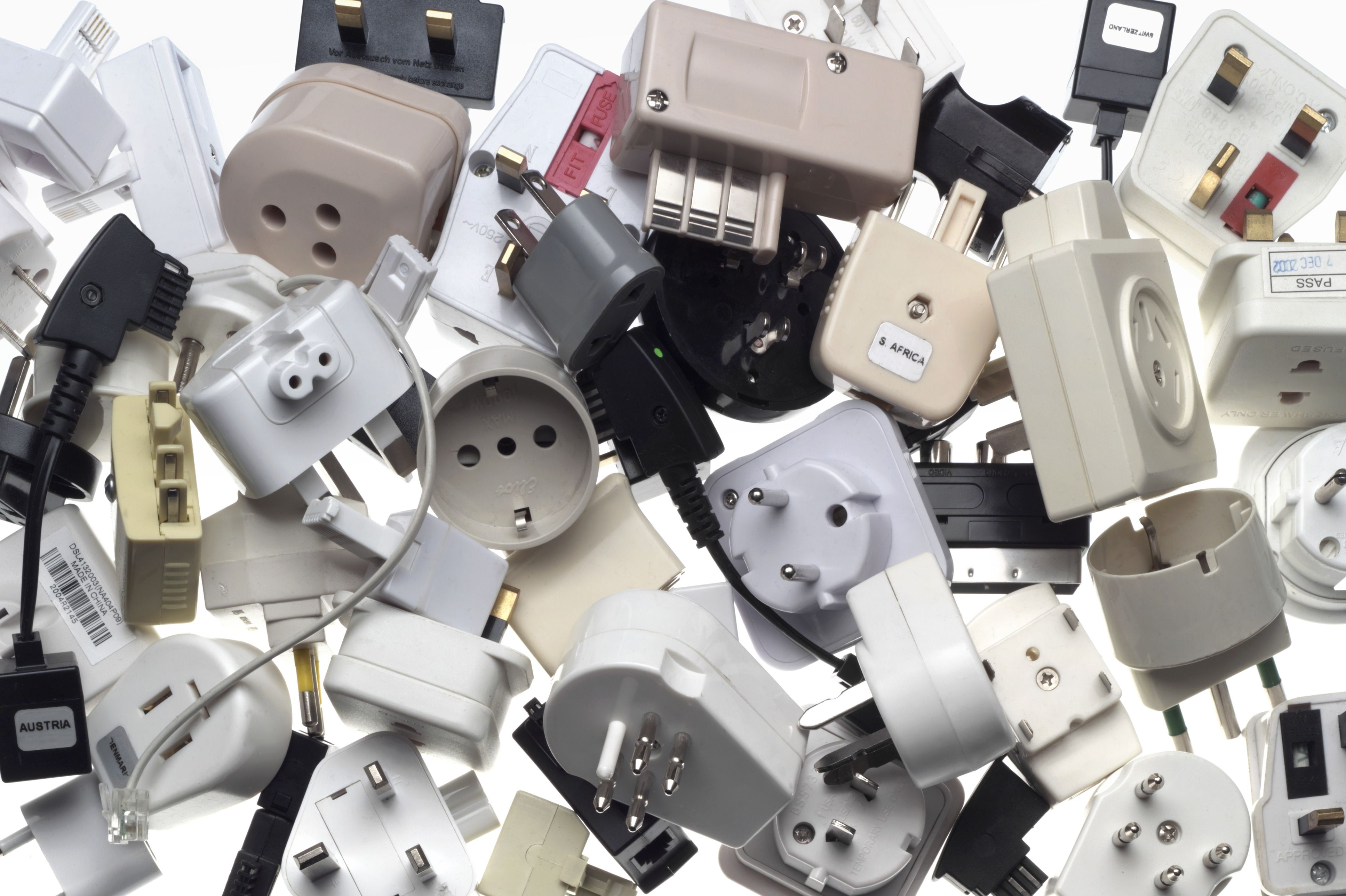 Converters and plug adapters allow you to use your electronic devices anywhere.