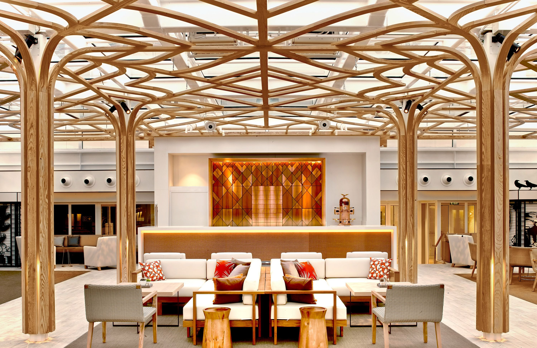 Wintergarden Lounge on the Viking Orion cruise ship