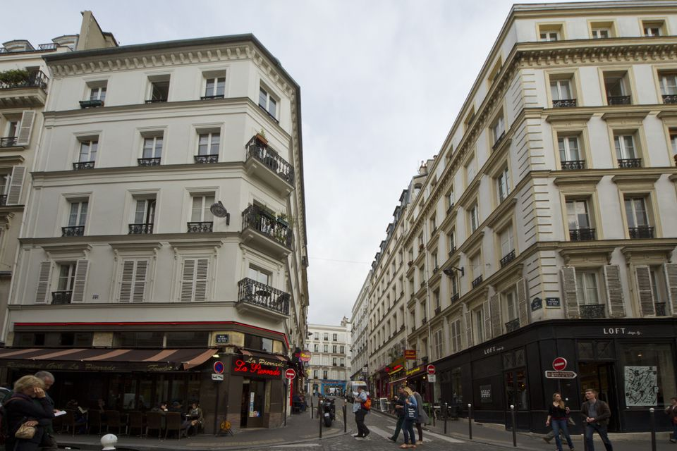 Rue des Martyrs and Rue Yvonne-le-Tac, Paris