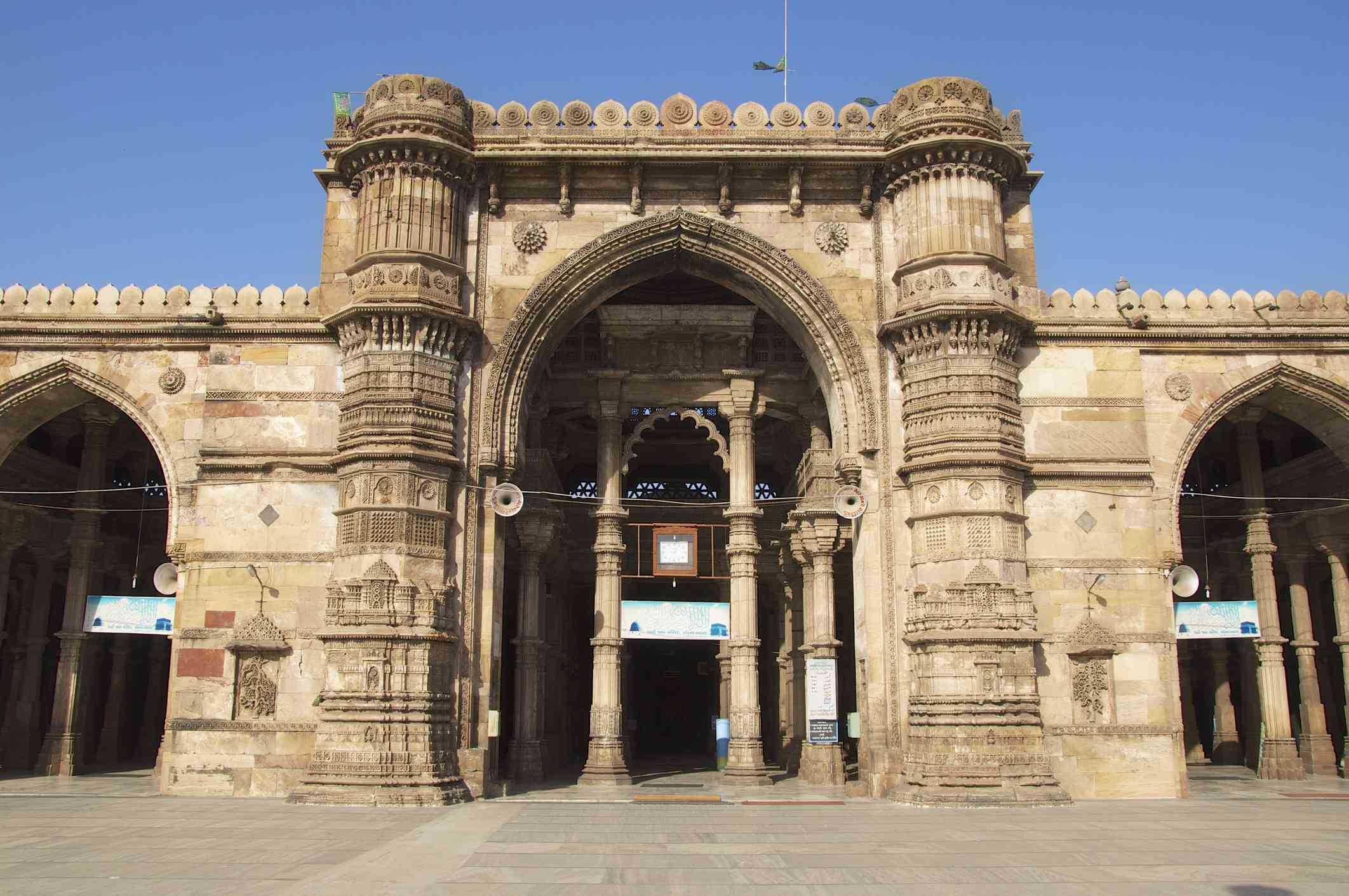 Jama Masjid, Mosque, Ahmedabad, Gujarat, India