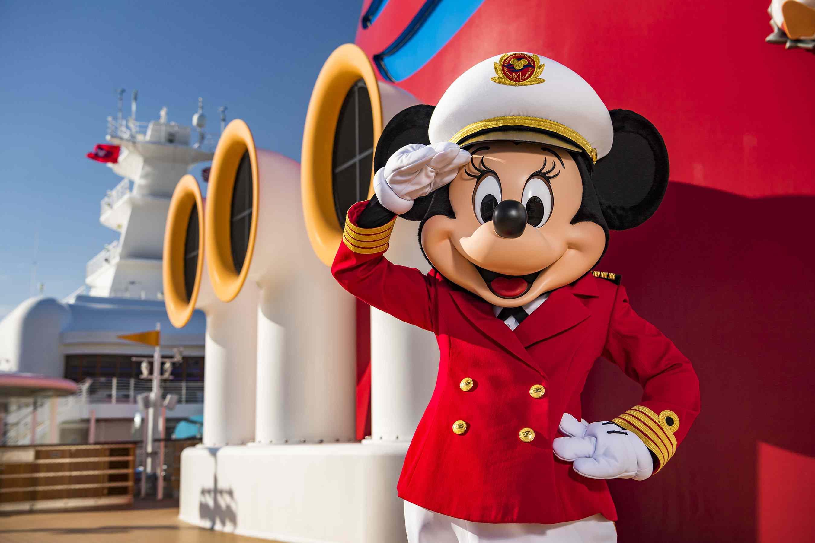 Captain Minnie Mouse Disney Cruise Line