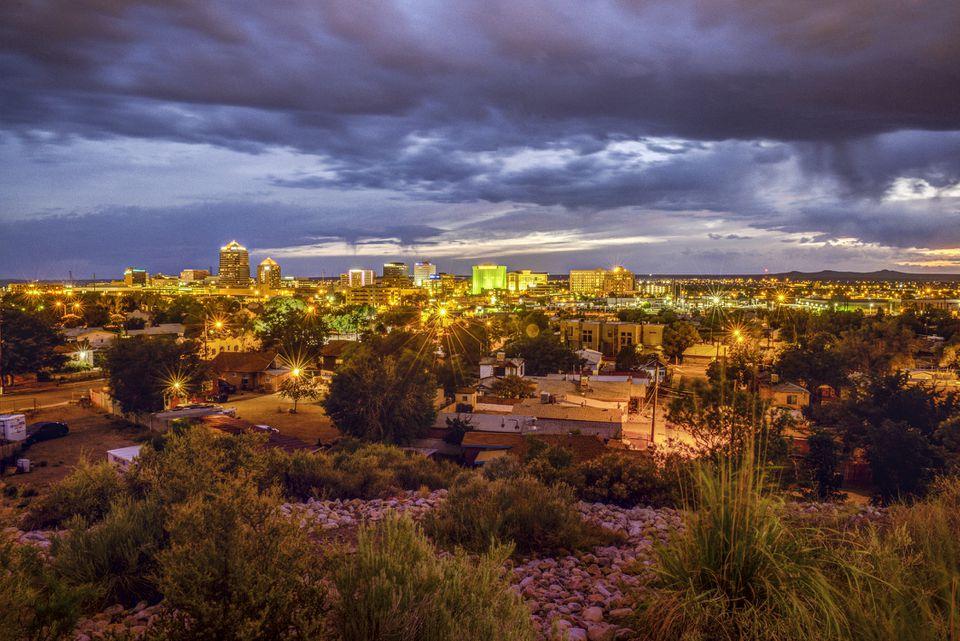 Horizonte de Albuquerque - Nuevo México