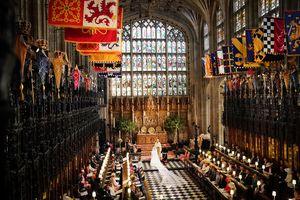 A Royal Wedding inside St George's Chapel, Windsor