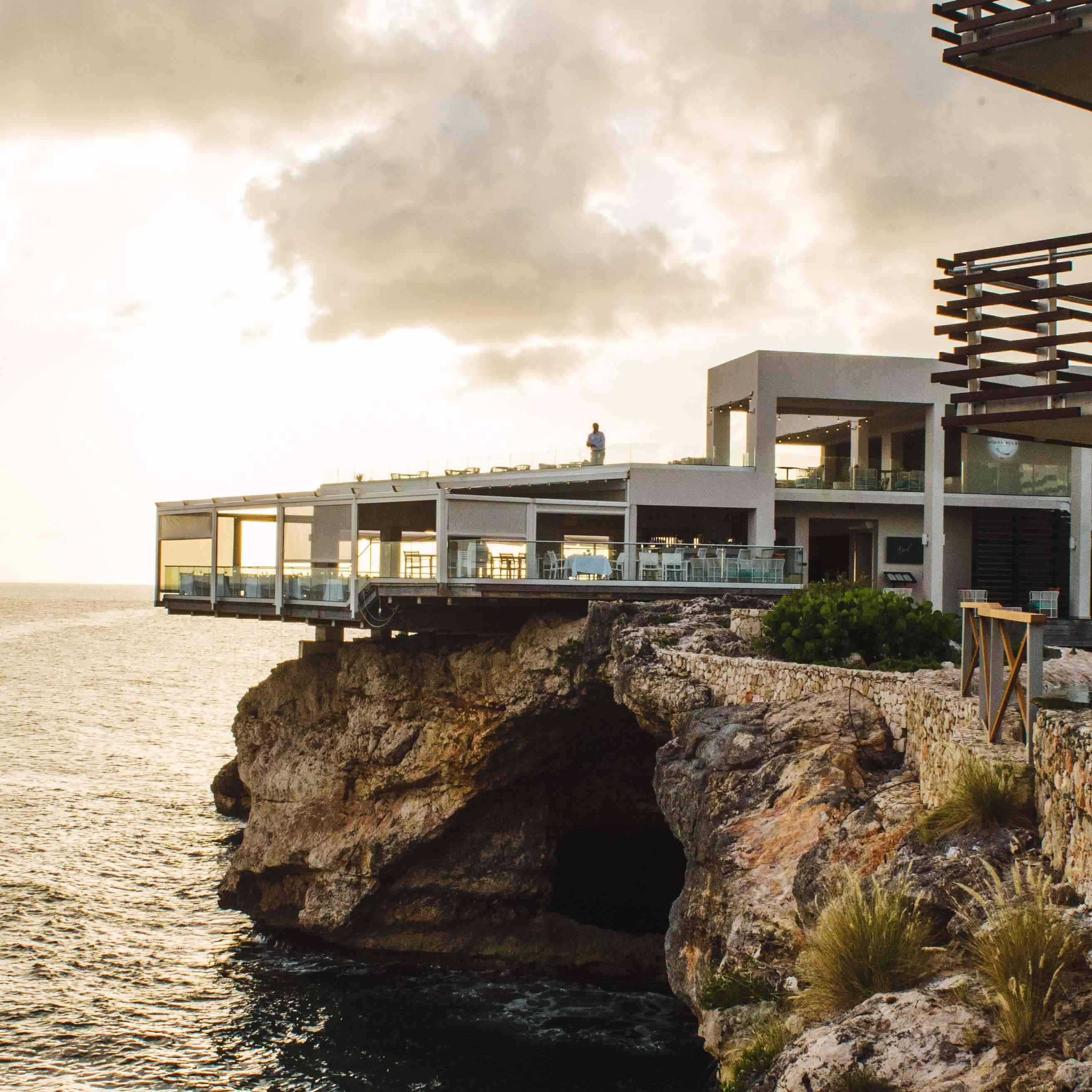 View of Azul restaurant at Sonesta Ocean Point