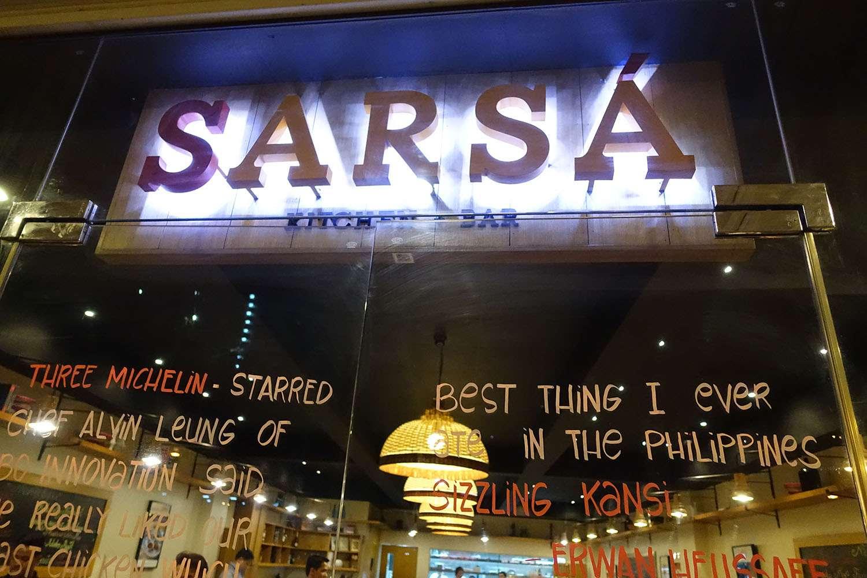 Sarsa storefront, Bonifacio Global City