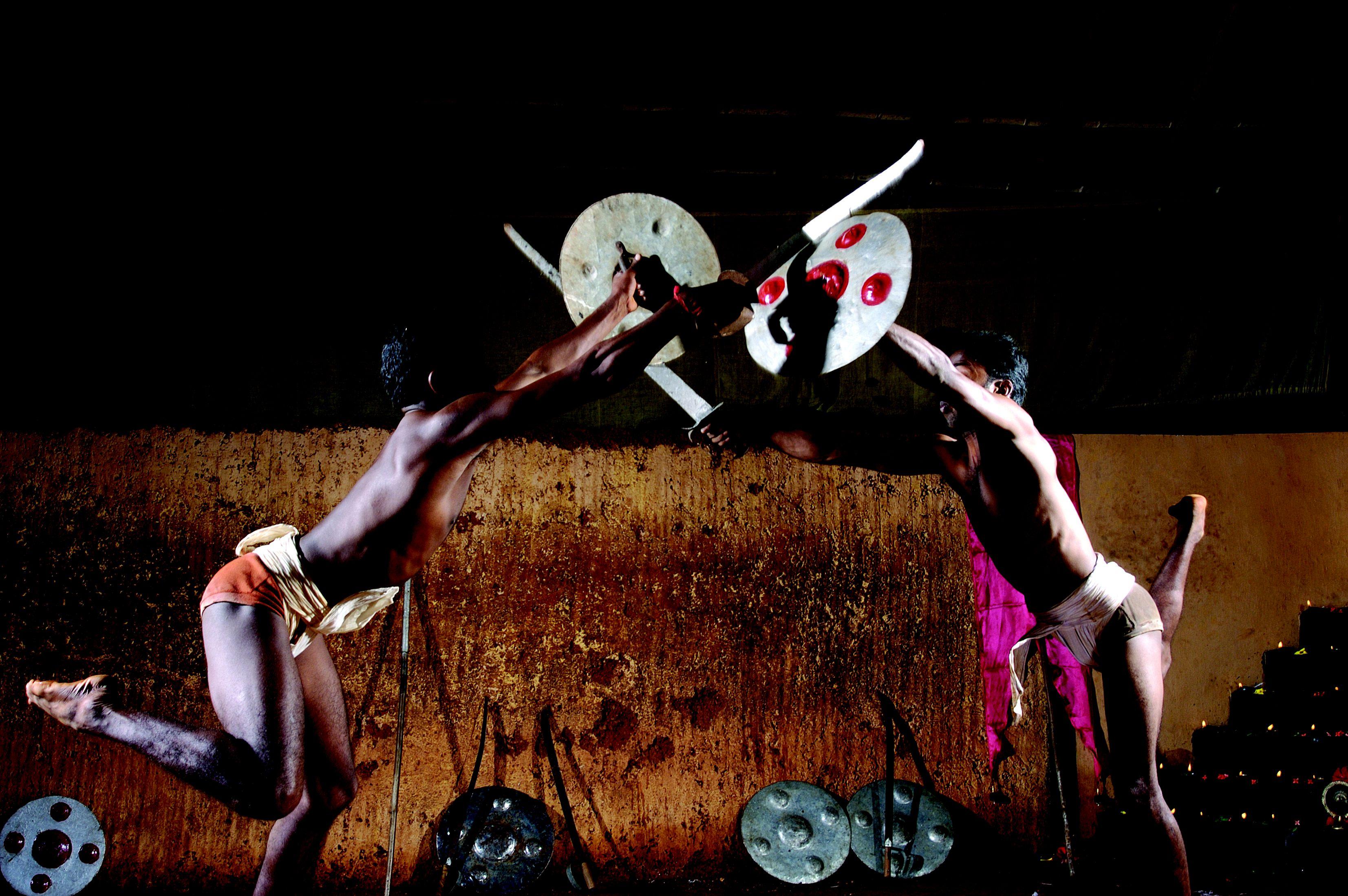 Kerala martial arts display