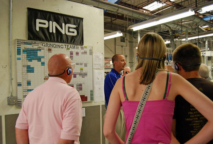 Karsten Manufacturing Tour at the Ping Factory