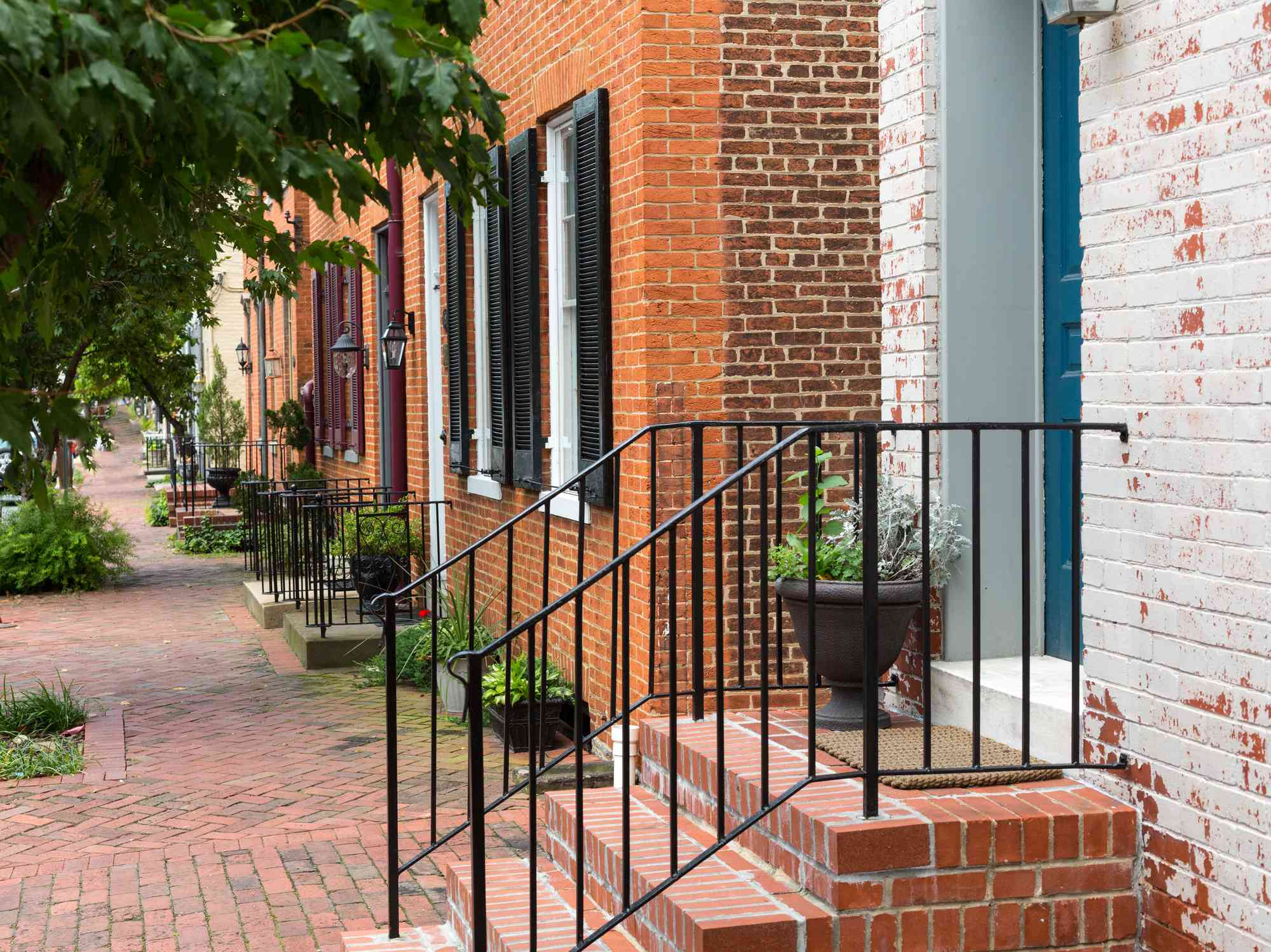 Street scene in Frederick Maryland