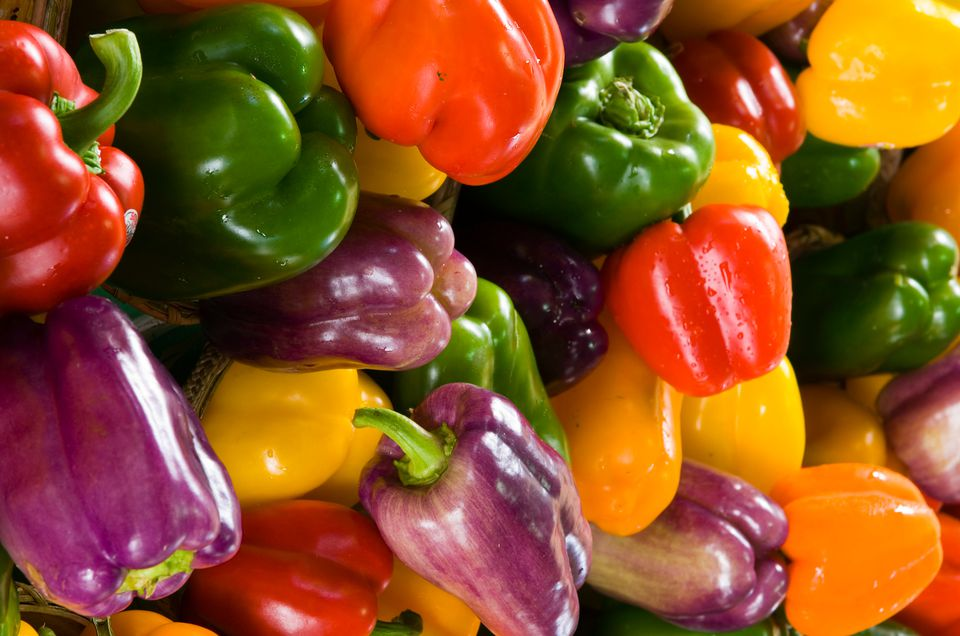 Bell peppers, assorted colors
