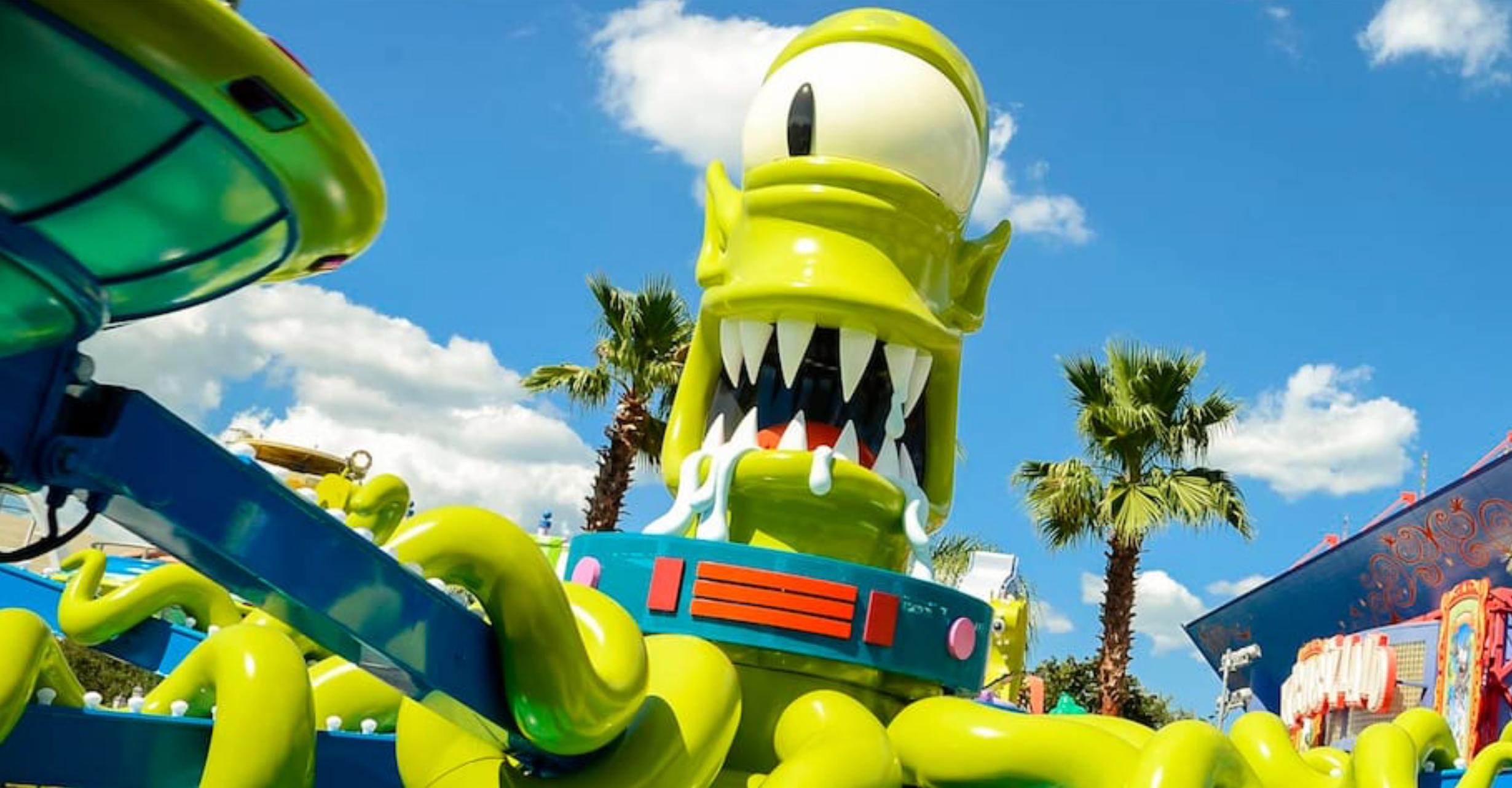 Kang & Kodos' Twirl 'n' Hurl at Universal Studios Florida