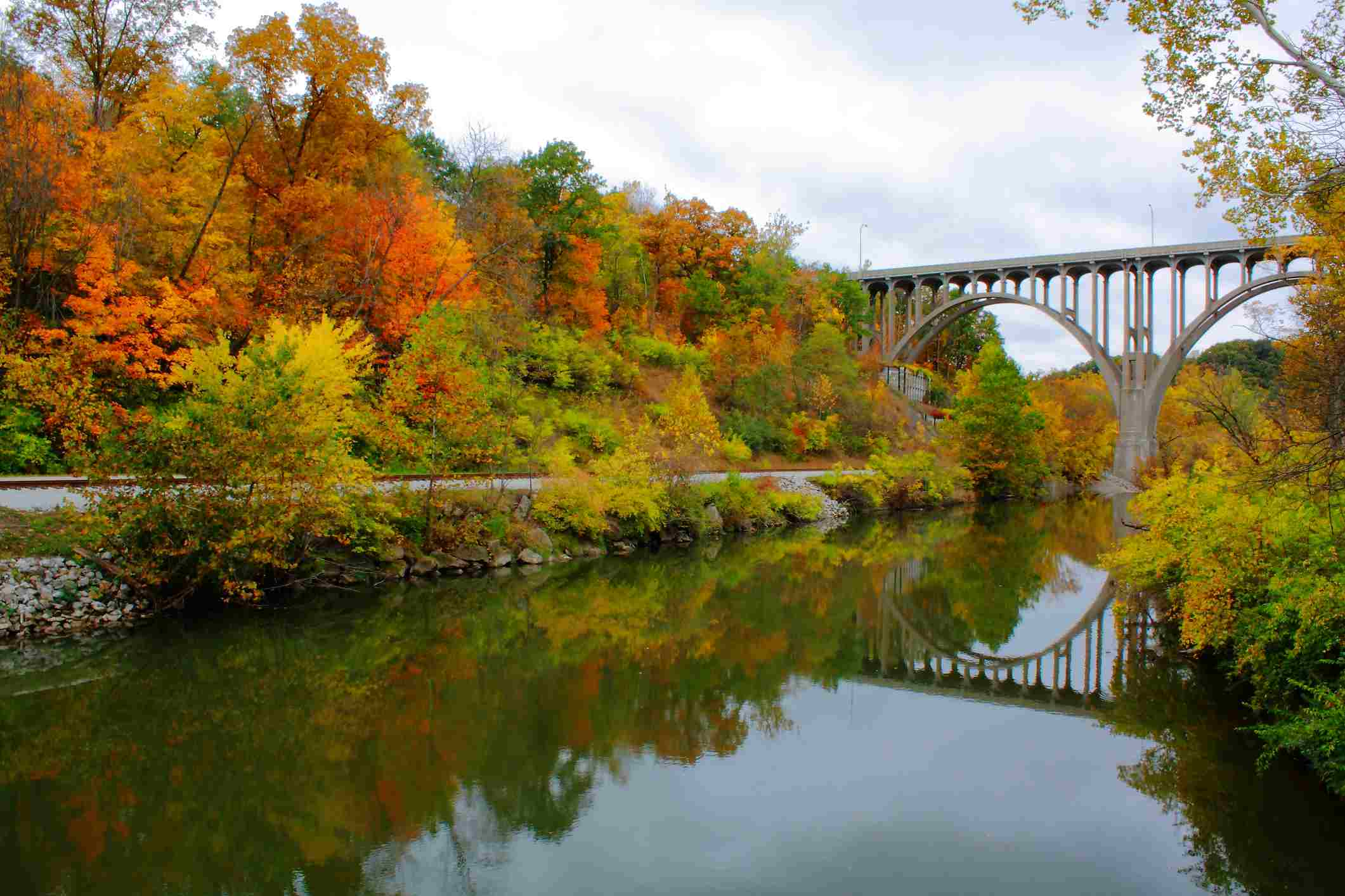 Cuyahoga Valley National Park in Autumna