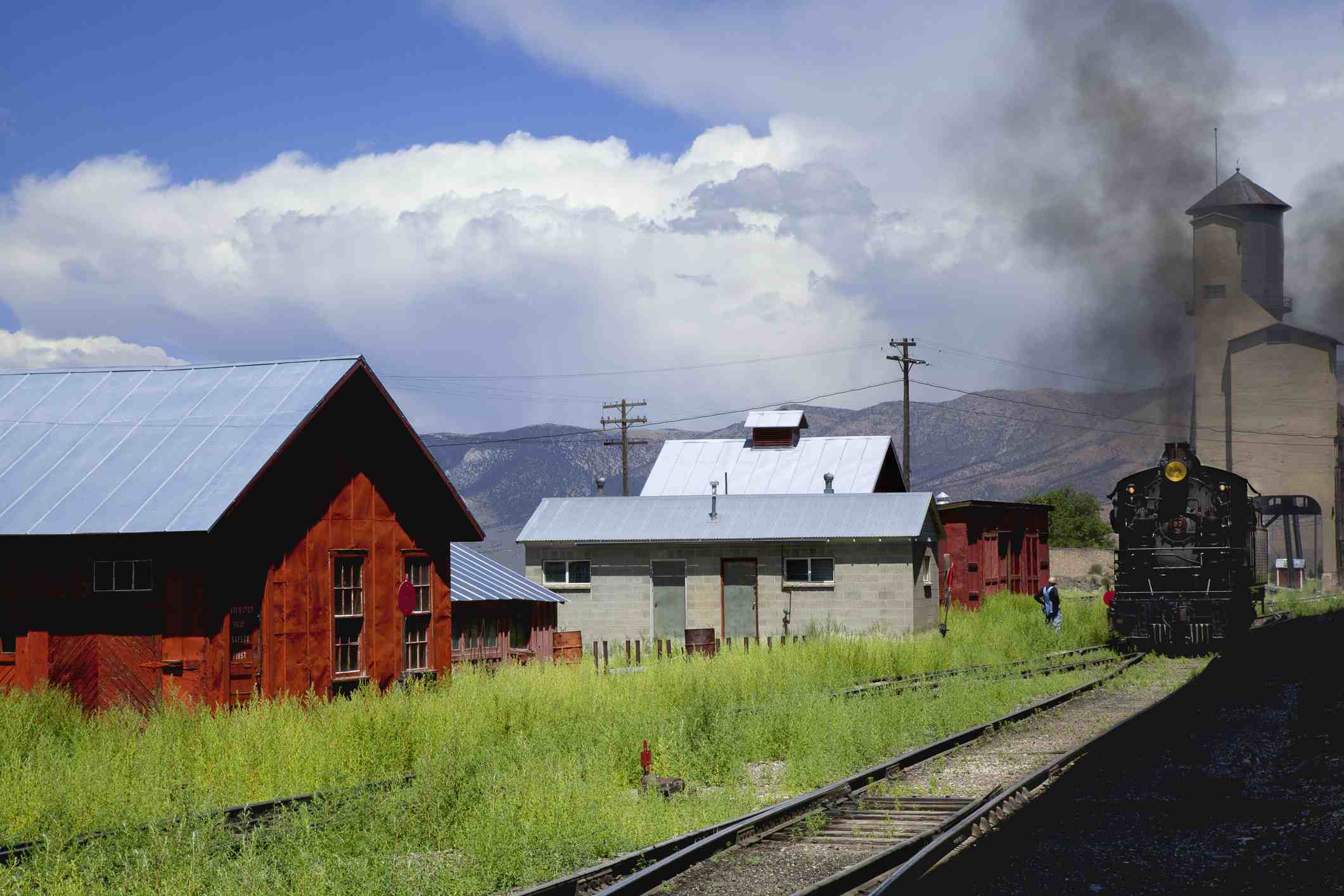 Steam Train in Ely, Nevada