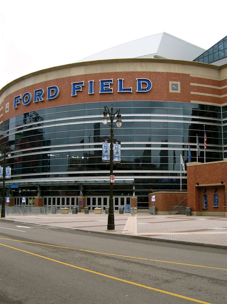 Ford Field in Detroit