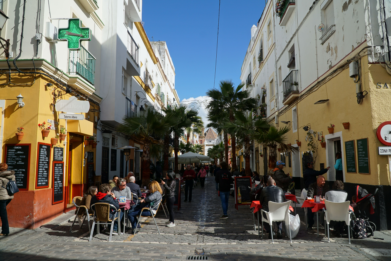 Tapas on Calle Virgen de la Palma