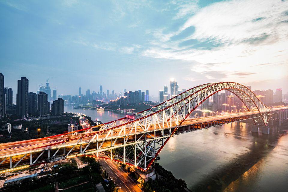 Chaotianmen Bridge Chongqing