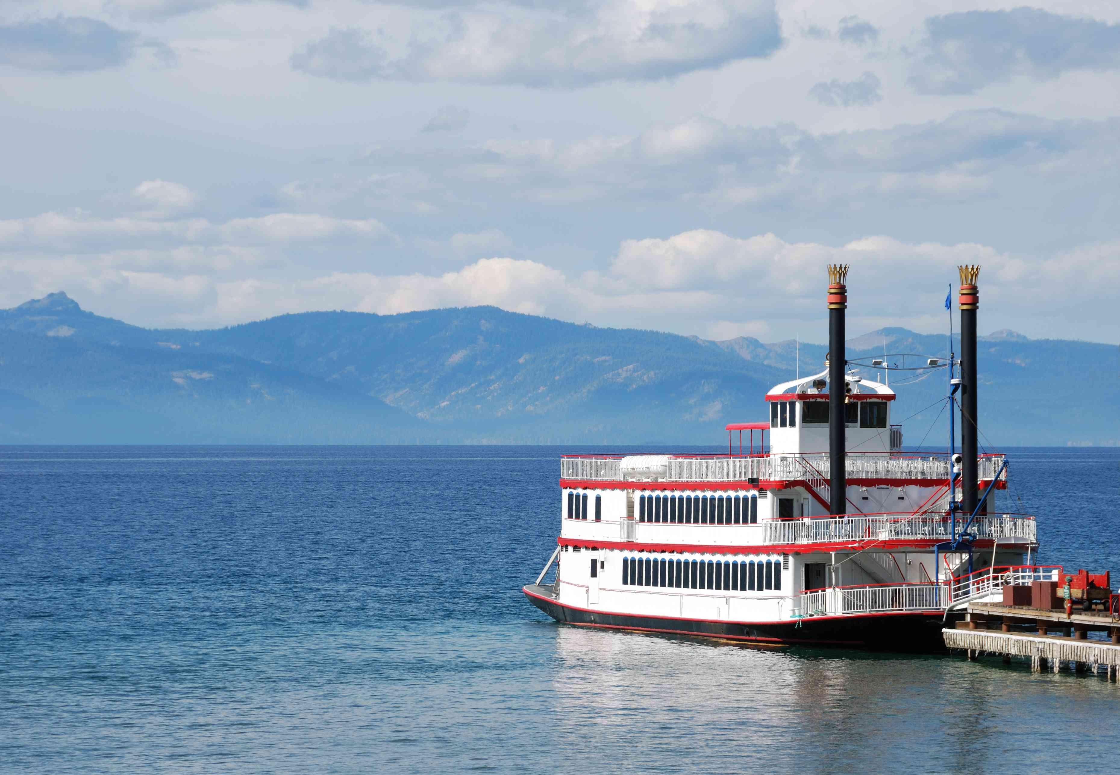 Tour boat on Lake Tahoe