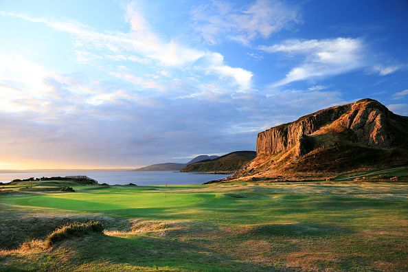 General Views of Golf Courses on the Isle of Arran