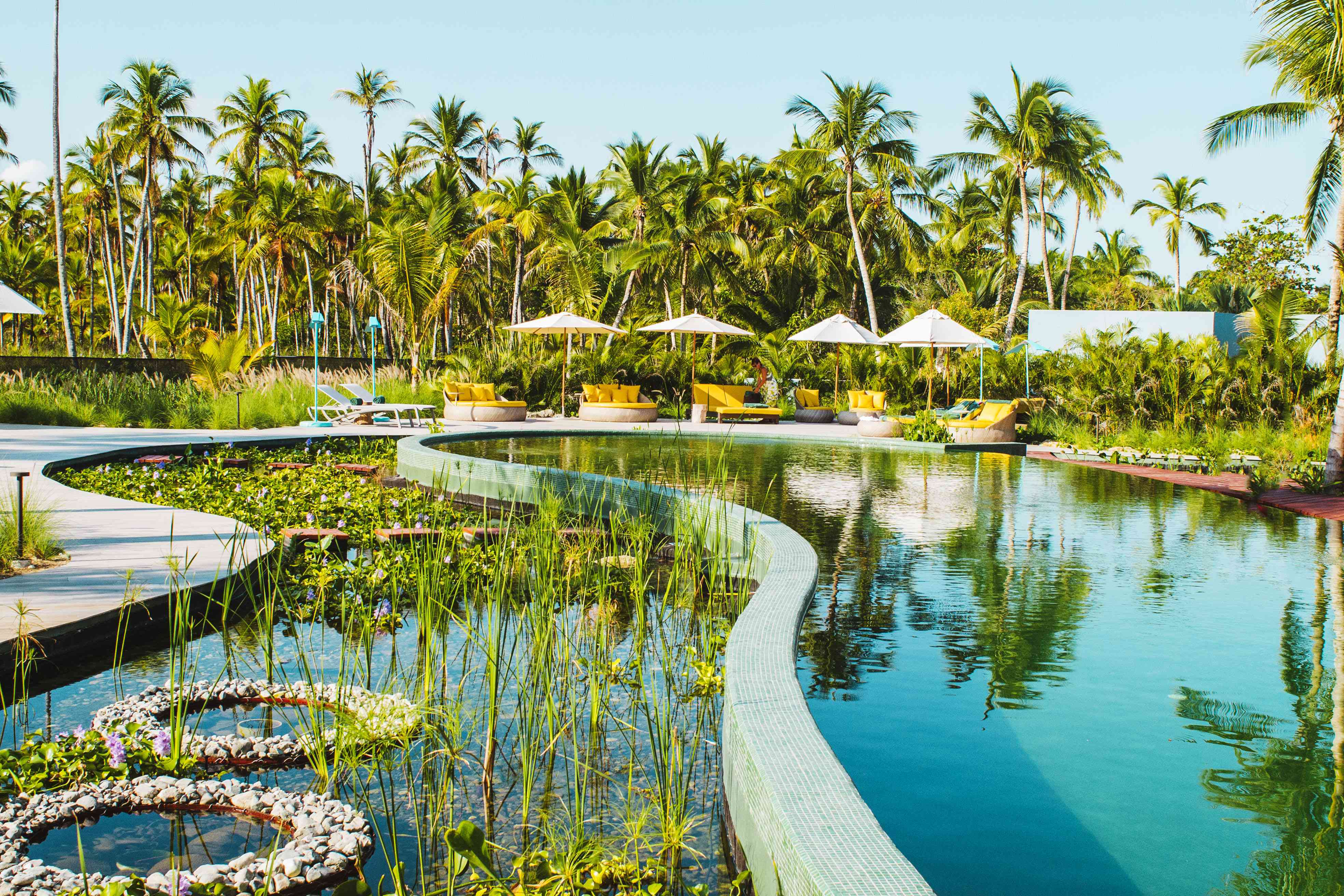 The Zen Pool at Miches Club Med