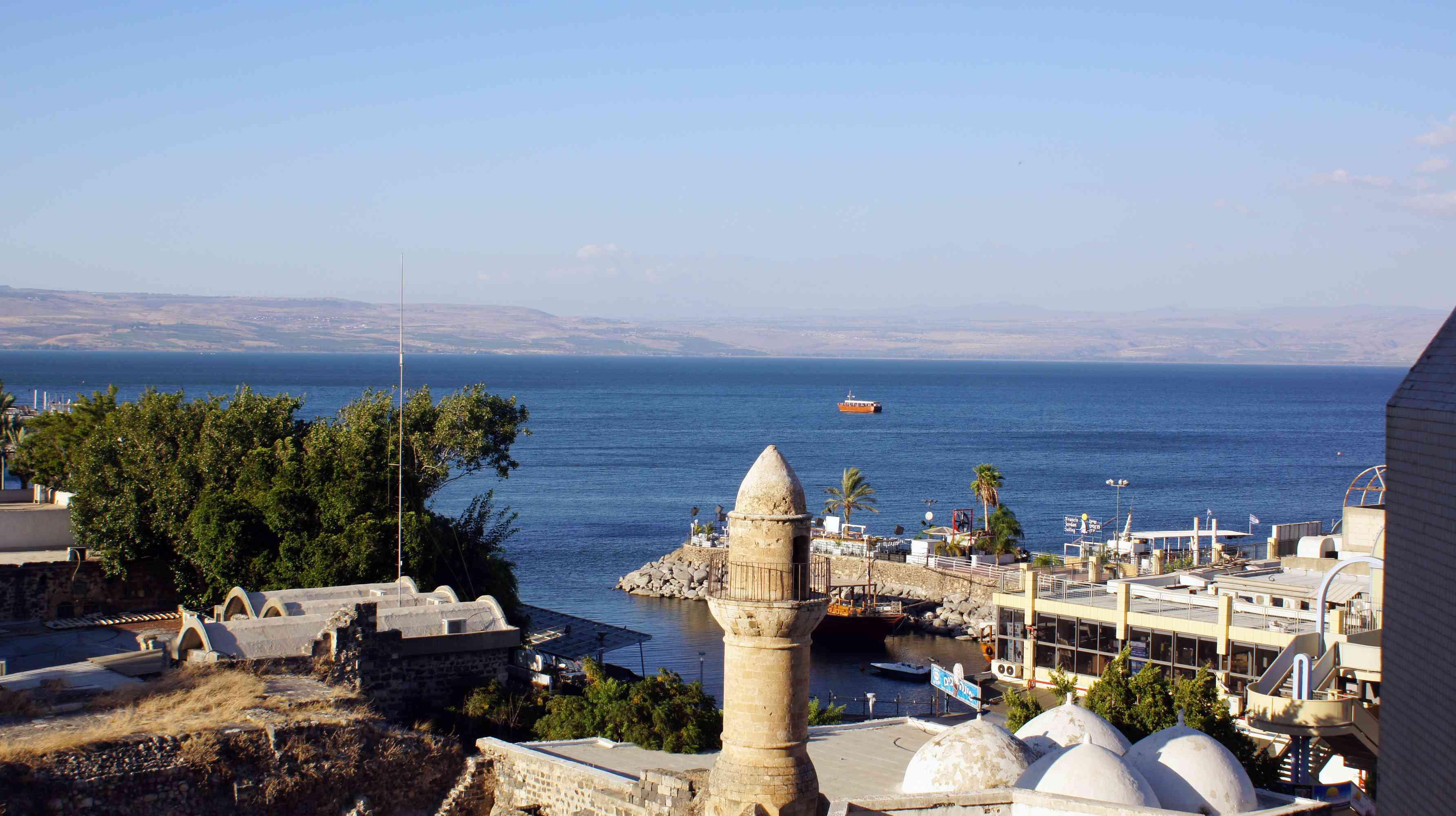 Tiberias, Sea of Galilee, Israel
