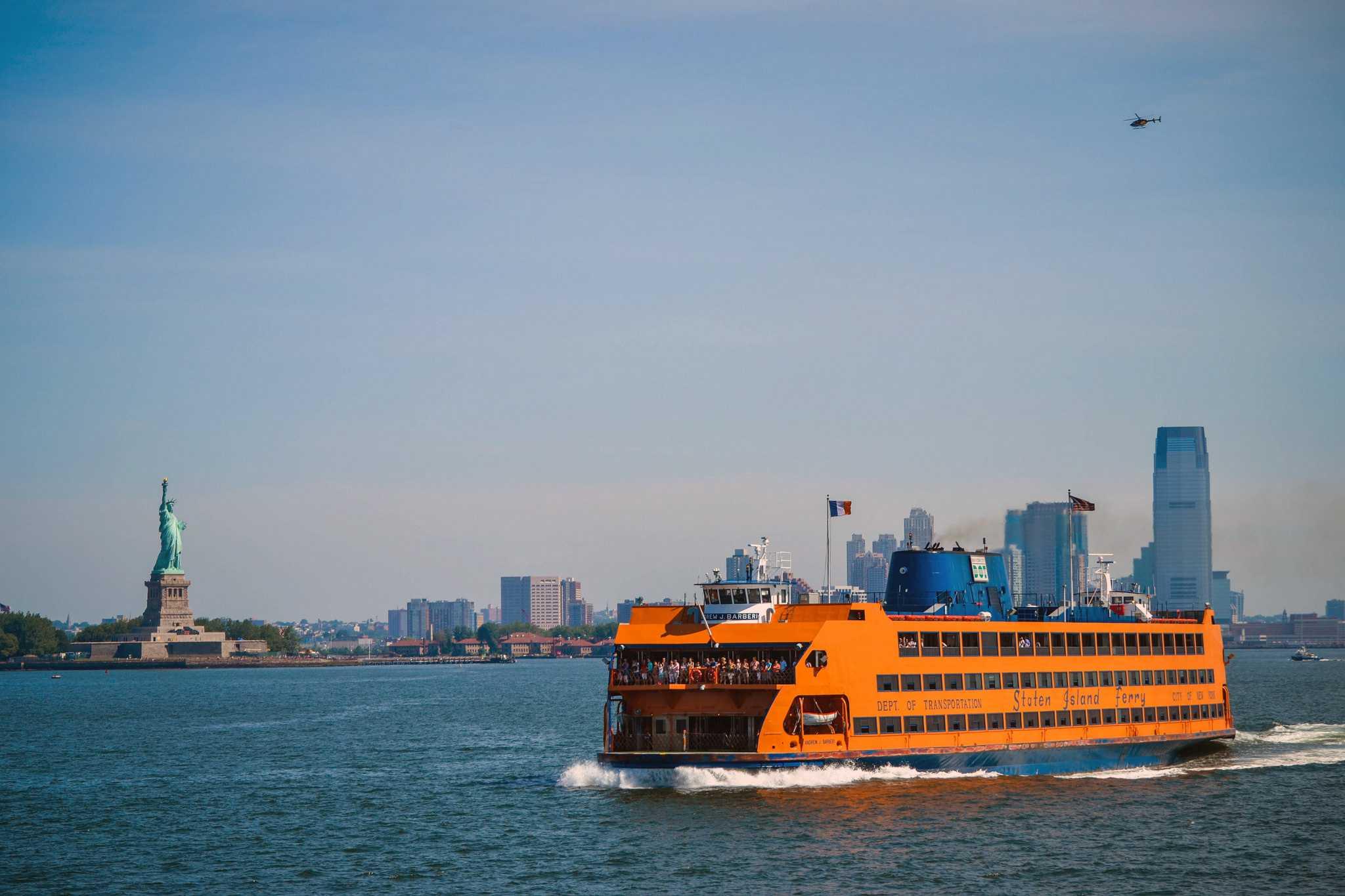 Statue of Liberty Staten Island ferry