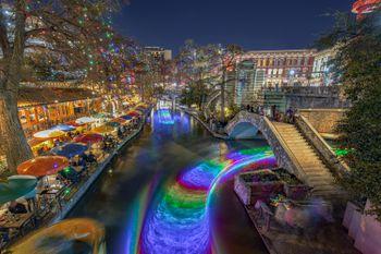 San Antonio Riverwalk Christmas.San Antonio S River Walk At Christmas