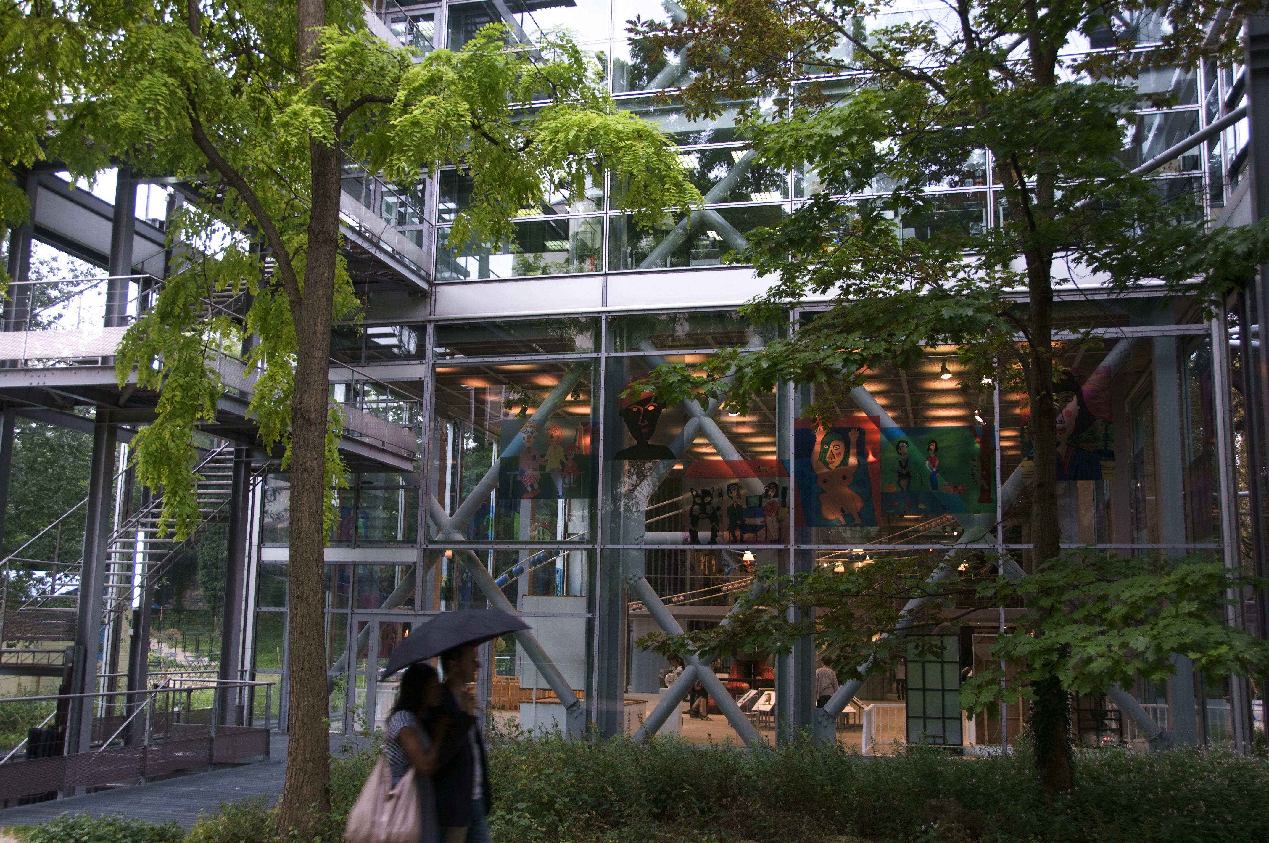 Fondation Cartier in Paris.