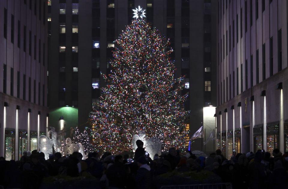 holiday season in new york city