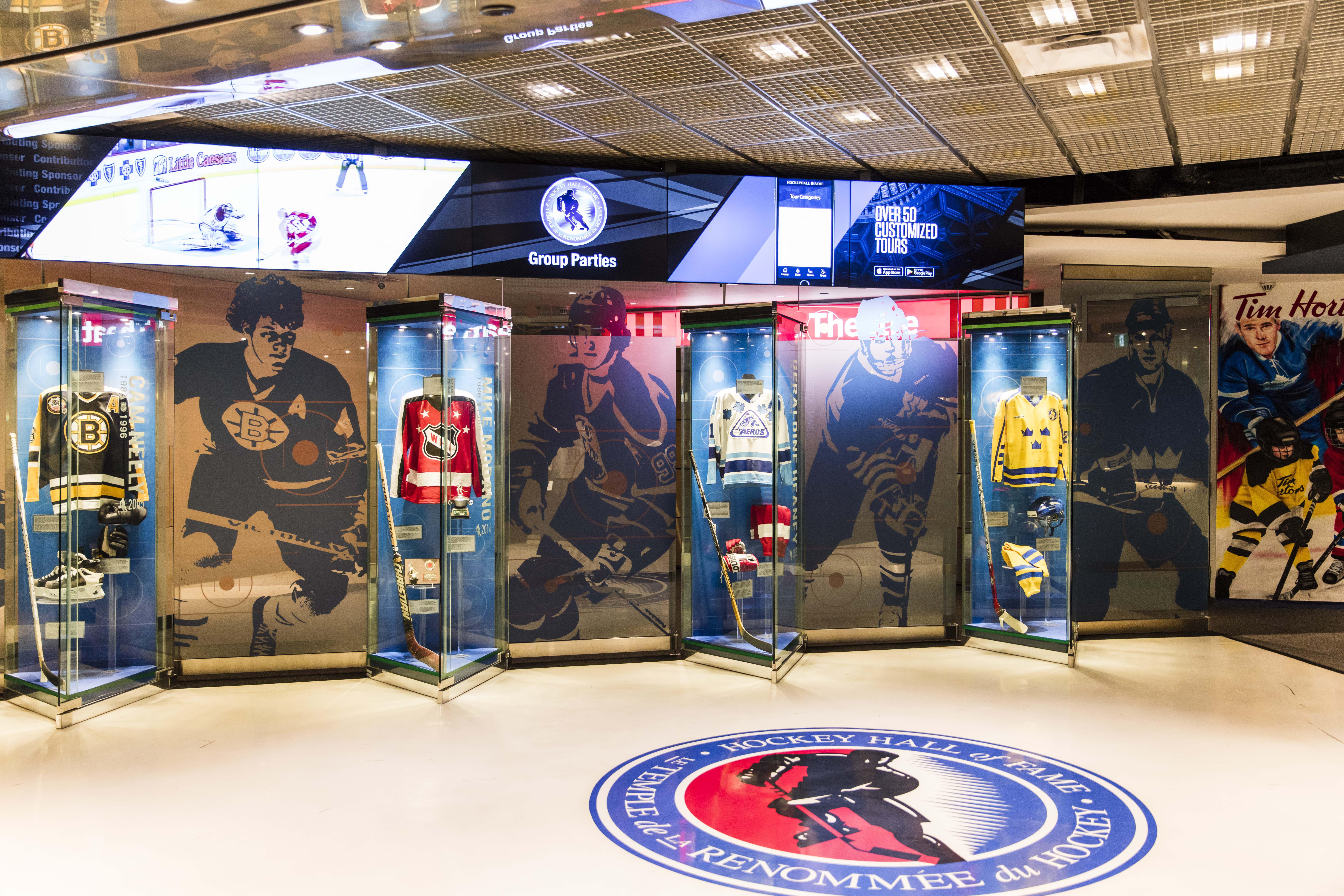 inside the Hockey Hall of Fame