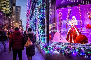 Image result for saks 5th avenue light show