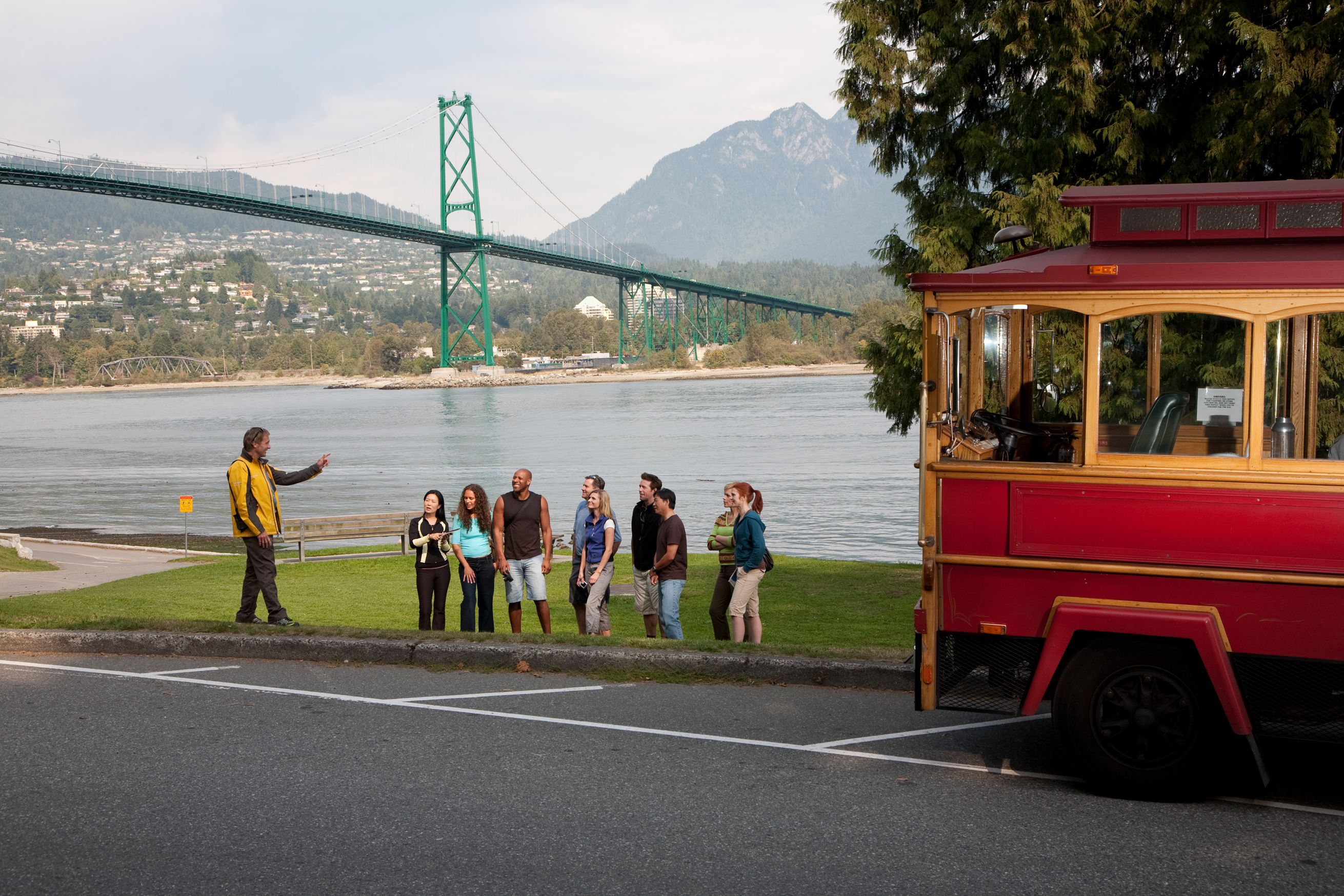 Vancouver Trolley at Stanley Park