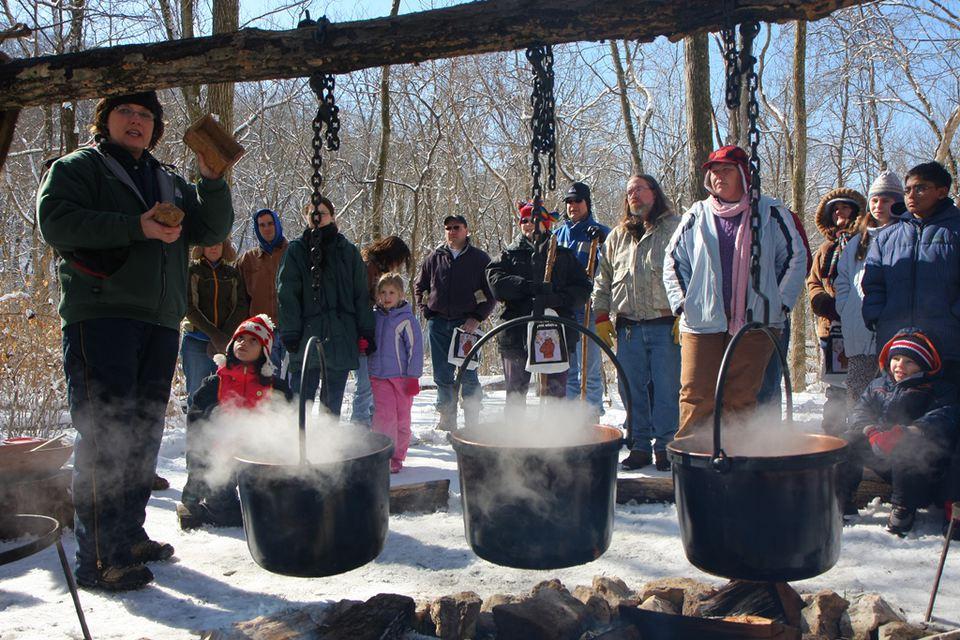 Maple Sugar Festival at Rockwoods Reservation