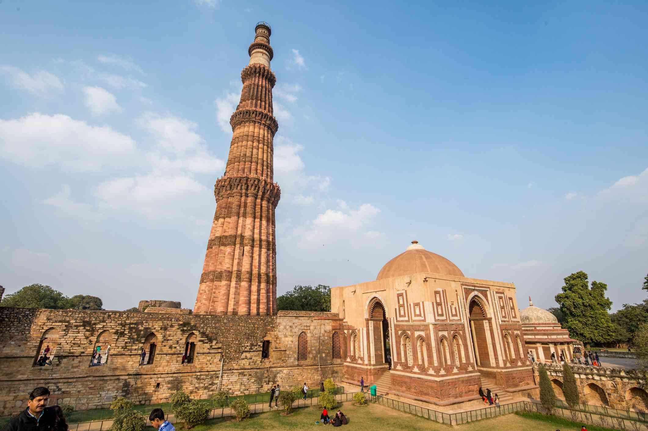 Qutub Minar and the Qutub complex