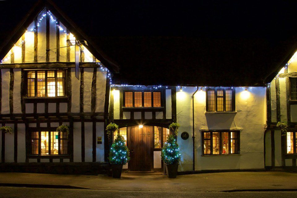 Exterior de invierno de The Swan Hotel & Spa, Lavenham