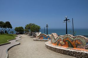 The Parque del Amor in Miraflores