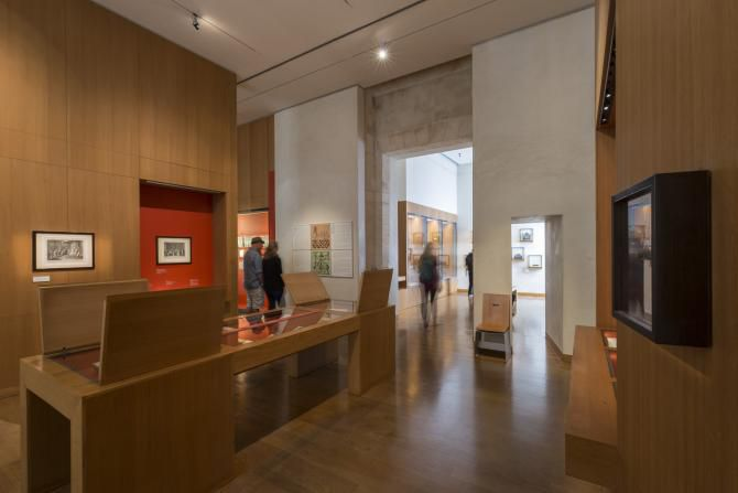 The permanent exhibit at the Museum of Jewish Art and History, Paris
